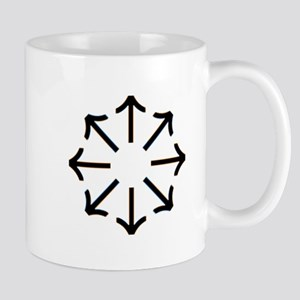 Tyr Rune Wheel Mugs