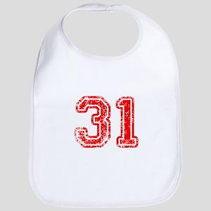 31-Col red Bib