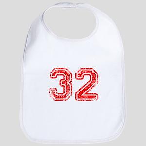 32-Col red Bib