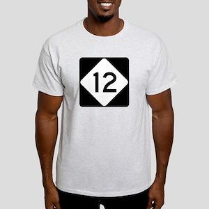 Highway 12, North Carolina Light T-Shirt