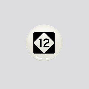 Highway 12, North Carolina Mini Button