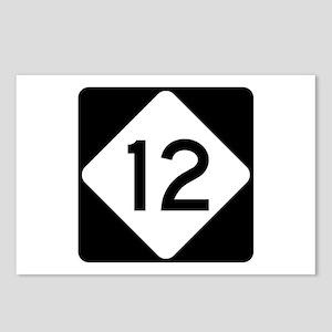 Highway 12, North Carolin Postcards (Package of 8)