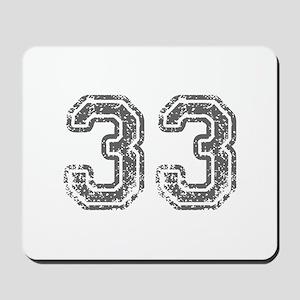 33-Col gray Mousepad
