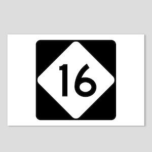 Highway 16, North Carolin Postcards (Package of 8)