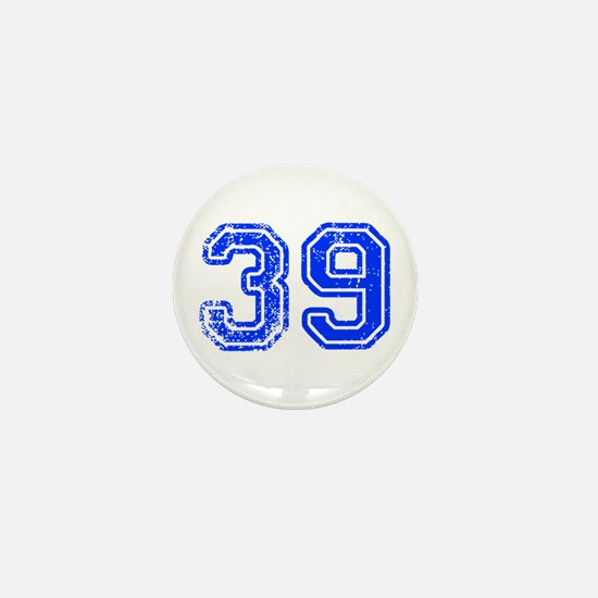 39-Col blue Mini Button
