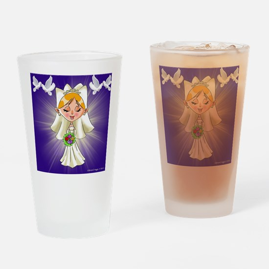 Bride To Be Drinking Glass