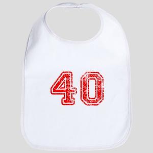 40-Col red Bib