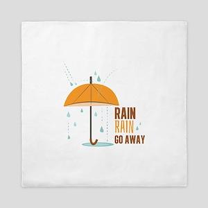 Rain Rain Go Away Queen Duvet