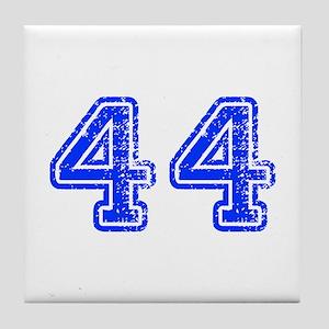 44-Col blue Tile Coaster