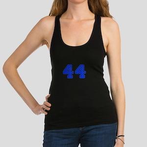44-Col blue Racerback Tank Top