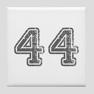 44-Col gray Tile Coaster
