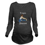 Yoga Queen Long Sleeve Maternity T-Shirt