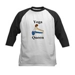 Yoga Queen Kids Baseball Jersey