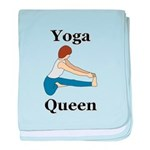 Yoga Queen baby blanket