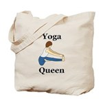 Yoga Queen Tote Bag