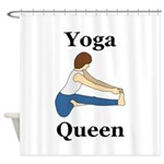 Yoga Queen Shower Curtain