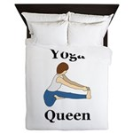 Yoga Queen Queen Duvet