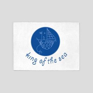 Sea King 5'x7'Area Rug