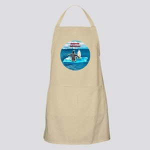 Antarctic Icebergs and penguins - BBQ Apron