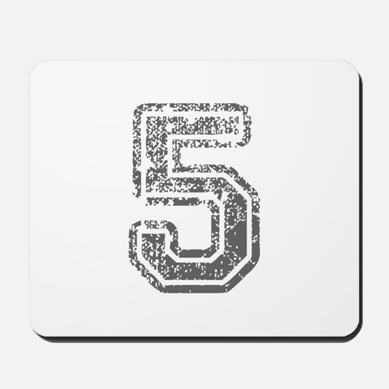 5-Col gray Mousepad