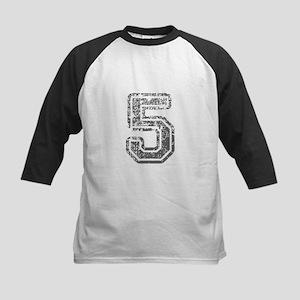 5-Col gray Baseball Jersey