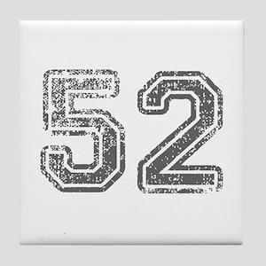 52-Col gray Tile Coaster