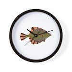 Starry Flounder Wall Clock