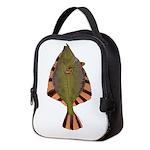Starry Flounder Neoprene Lunch Bag