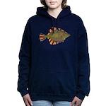 Starry Flounder Women's Hooded Sweatshirt