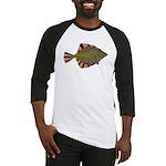 Starry Flounder Baseball Jersey
