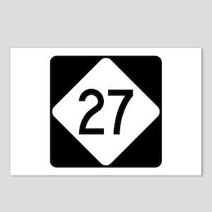 Highway 27, North Carolin Postcards (Package of 8)