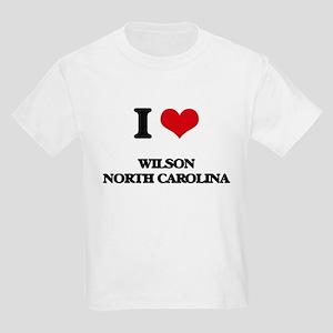 I love Wilson North Carolina T-Shirt