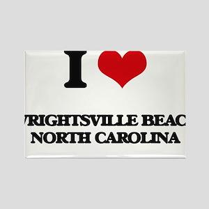 I love Wrightsville Beach North Carolina Magnets