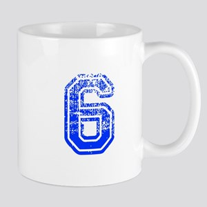 6-Col blue Mugs