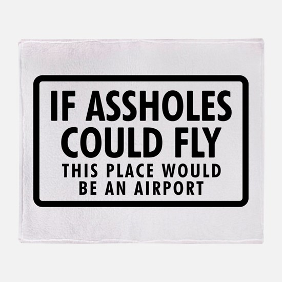 Airport Throw Blanket