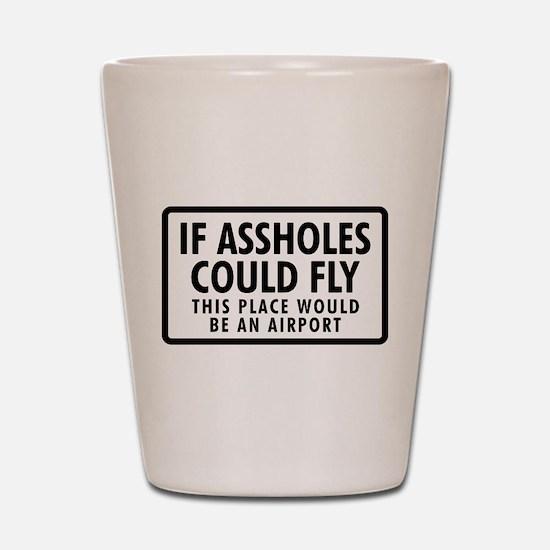 Airport Shot Glass