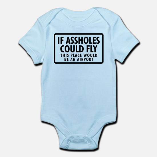 Airport Infant Bodysuit