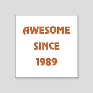 """1989 Square Sticker 3"""" x 3"""""""