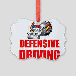 Defensive Driving Ornament