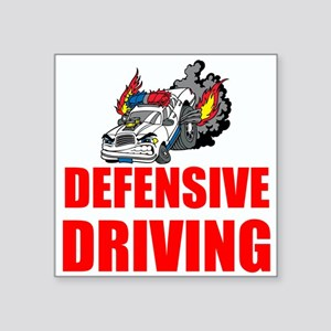 Defensive Driving Sticker
