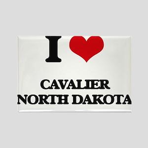 I love Cavalier North Dakota Magnets