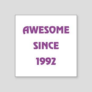"""1992 Square Sticker 3"""" x 3"""""""