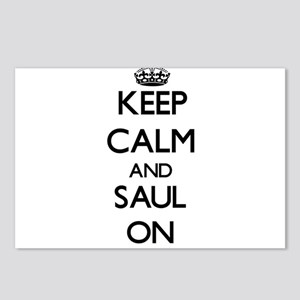 Keep Calm and Saul ON Postcards (Package of 8)