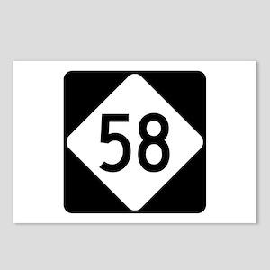 Highway 58, North Carolin Postcards (Package of 8)