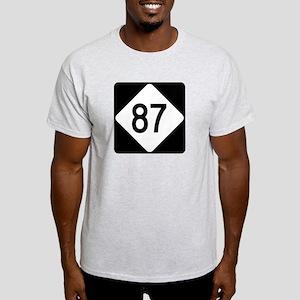 Highway 87, North Carolina Light T-Shirt