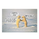 Al Gore Bears Postcards (Package of 8)