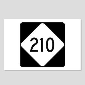 Highway 210, North Caroli Postcards (Package of 8)