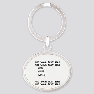 Custom Text And Image Keychains