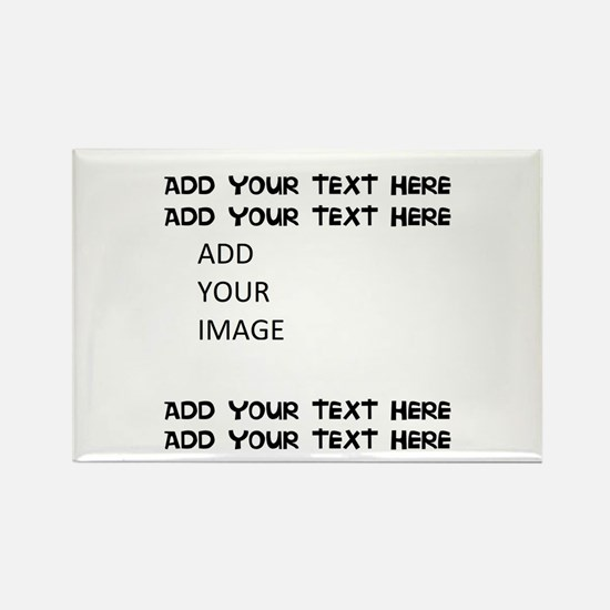 Custom Text And Image Magnets