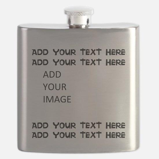 Custom Text and Image Flask